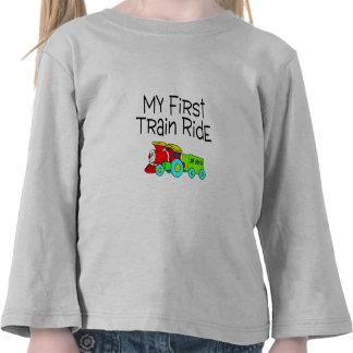 Train Ride My First Train Ride T-shirt
