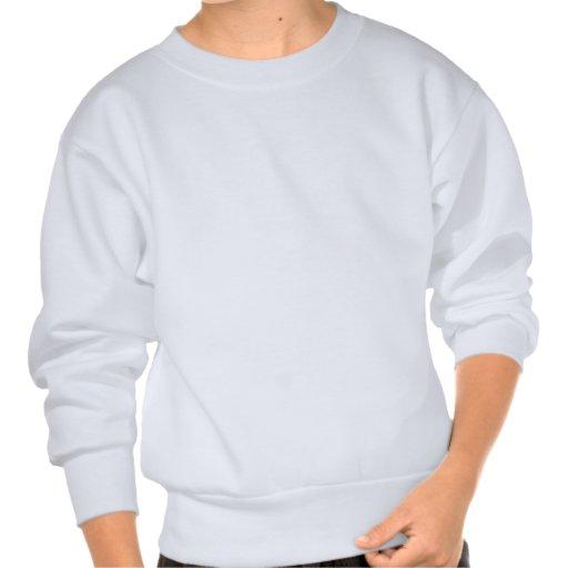 Train Rip Pullover Sweatshirts