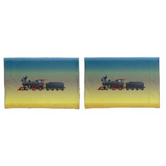 Train Set Pillow Case Set Pillowcase