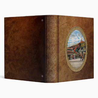 Train Station - Atlantic Ave Control House 1910 3 Ring Binder