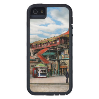 Train Station - Atlantic Ave Control House 1910 iPhone 5 Covers