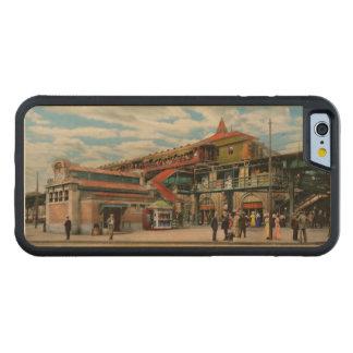 Train Station - Atlantic Ave Control House 1910 Maple iPhone 6 Bumper Case