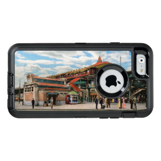 Train Station - Atlantic Ave Control House 1910 OtterBox Defender iPhone Case
