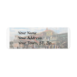 Train Station - Atlantic Ave Control House 1910 Return Address Label
