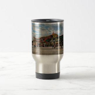 Train Station - Atlantic Ave Control House 1910 Travel Mug