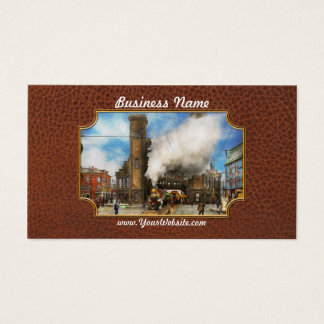 Train Station - Boston & Maine Railroad Depot 1910 Business Card