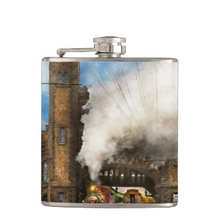 Train Station - Boston & Maine Railroad Depot 1910 Flasks