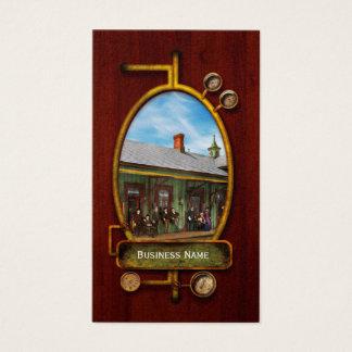 Train Station - Garrison train station 1880 Business Card