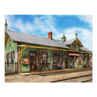 Train Station - Garrison train station 1880 Flyers
