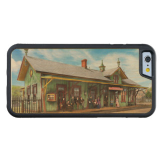 Train Station - Garrison train station 1880 Maple iPhone 6 Bumper