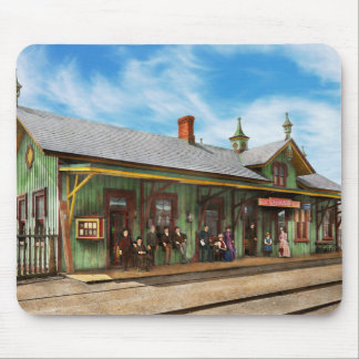 Train Station - Garrison train station 1880 Mouse Pad