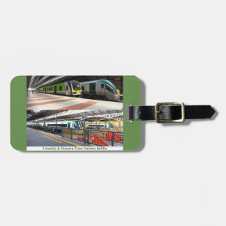 Train Station image for Luggage Tag