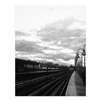 Train Station Letterhead