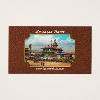 Train Station - Louisville and Nashville Railroad Business Card