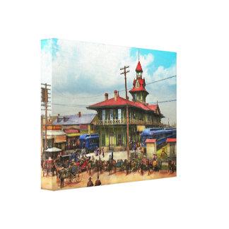 Train Station - Louisville and Nashville Railroad Canvas Print