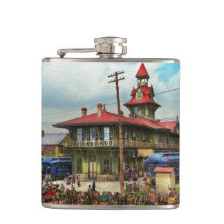 Train Station - Louisville and Nashville Railroad Flasks
