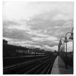 Train Station Napkin