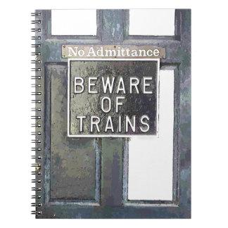 TRAIN STATION NOTEBOOKS