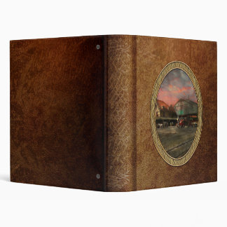 Train Station - NY Central Railroad depot 1905 Binders