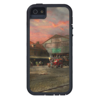 Train Station - NY Central Railroad depot 1905 iPhone 5 Case