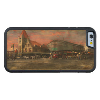 Train Station - NY Central Railroad depot 1905 Maple iPhone 6 Bumper Case