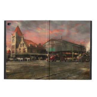 Train Station - NY Central Railroad depot 1905 Powis iPad Air 2 Case