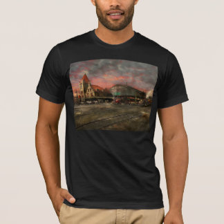 Train Station - NY Central Railroad depot 1905 T-Shirt