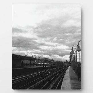 Train Station Plaque