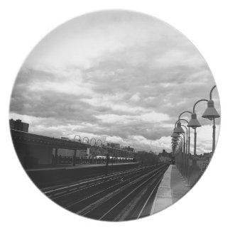 Train Station Plate