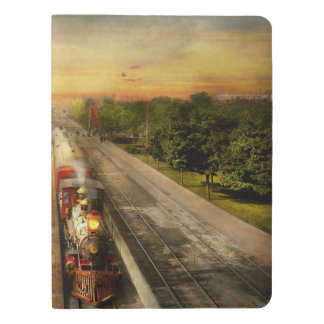 Train Station - The romance of the rails 1908 Extra Large Moleskine Notebook