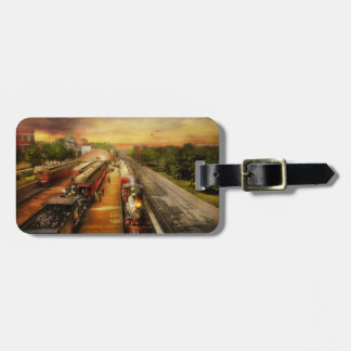 Train Station - The romance of the rails 1908 Luggage Tag