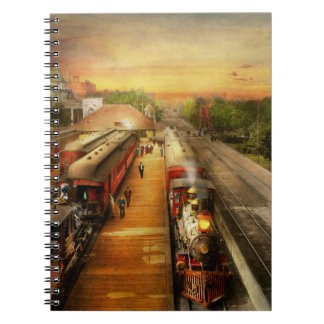 Train Station - The romance of the rails 1908 Notebook