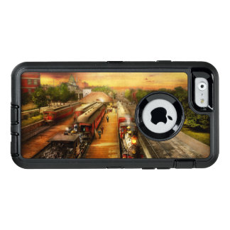 Train Station - The romance of the rails 1908 OtterBox Defender iPhone Case