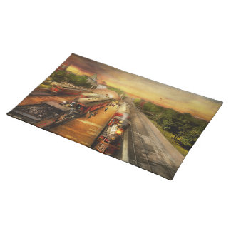 Train Station - The romance of the rails 1908 Placemat