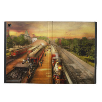 Train Station - The romance of the rails 1908 Powis iPad Air 2 Case