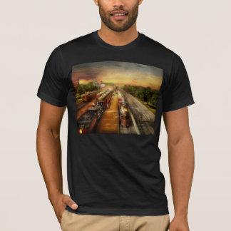 Train Station - The romance of the rails 1908 T-Shirt