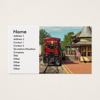 Train Station - There will always be hope Business Card