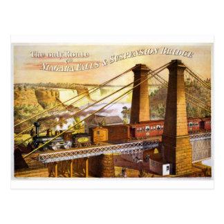 Train Steam Railroad Steampunk Engine Destiny Postcard