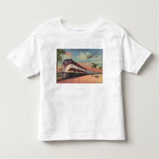 Train- Streamlining through Florida Toddler T-shirt
