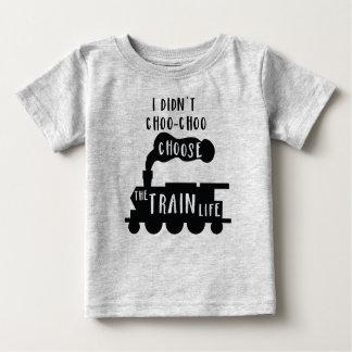 Train Tee for Babies