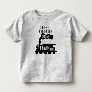 Train Tee for Toddlers