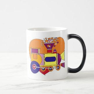 train that disappears magic mug