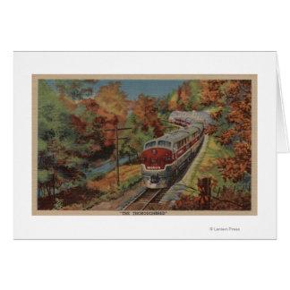 Train-The Thoroughbred, Monon Card