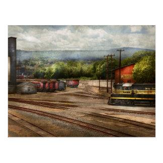 Train - The train graveyard Postcard