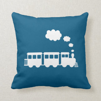 Train Throw Pillow - Pick Your Color!