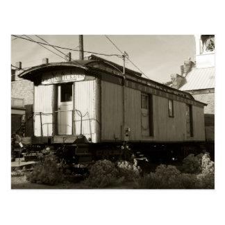 Train Ticket and Rail Postcard
