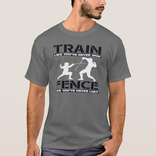 TRAIN TO WIN FENCING T-Shirt