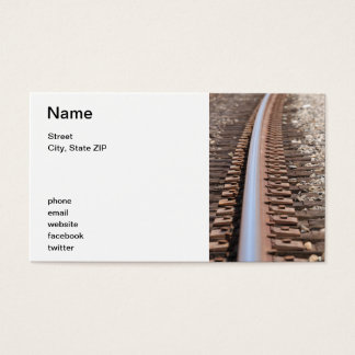 Train Track Business Card