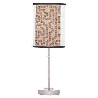 Train Track Pattern Table Lamp