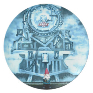 Train Tunnel Gnome Plate